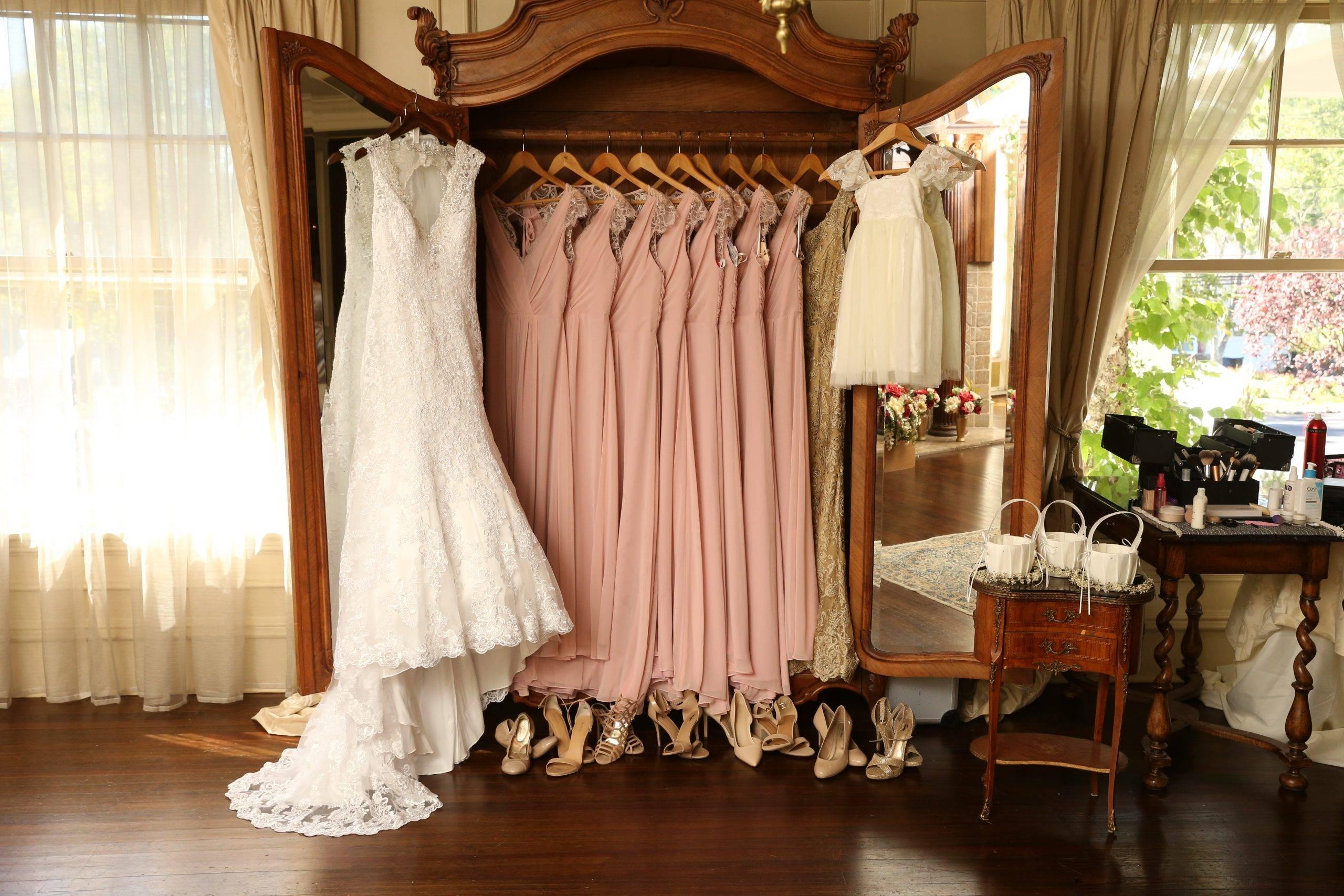 Park Savoy brides and bridesmaids dresses