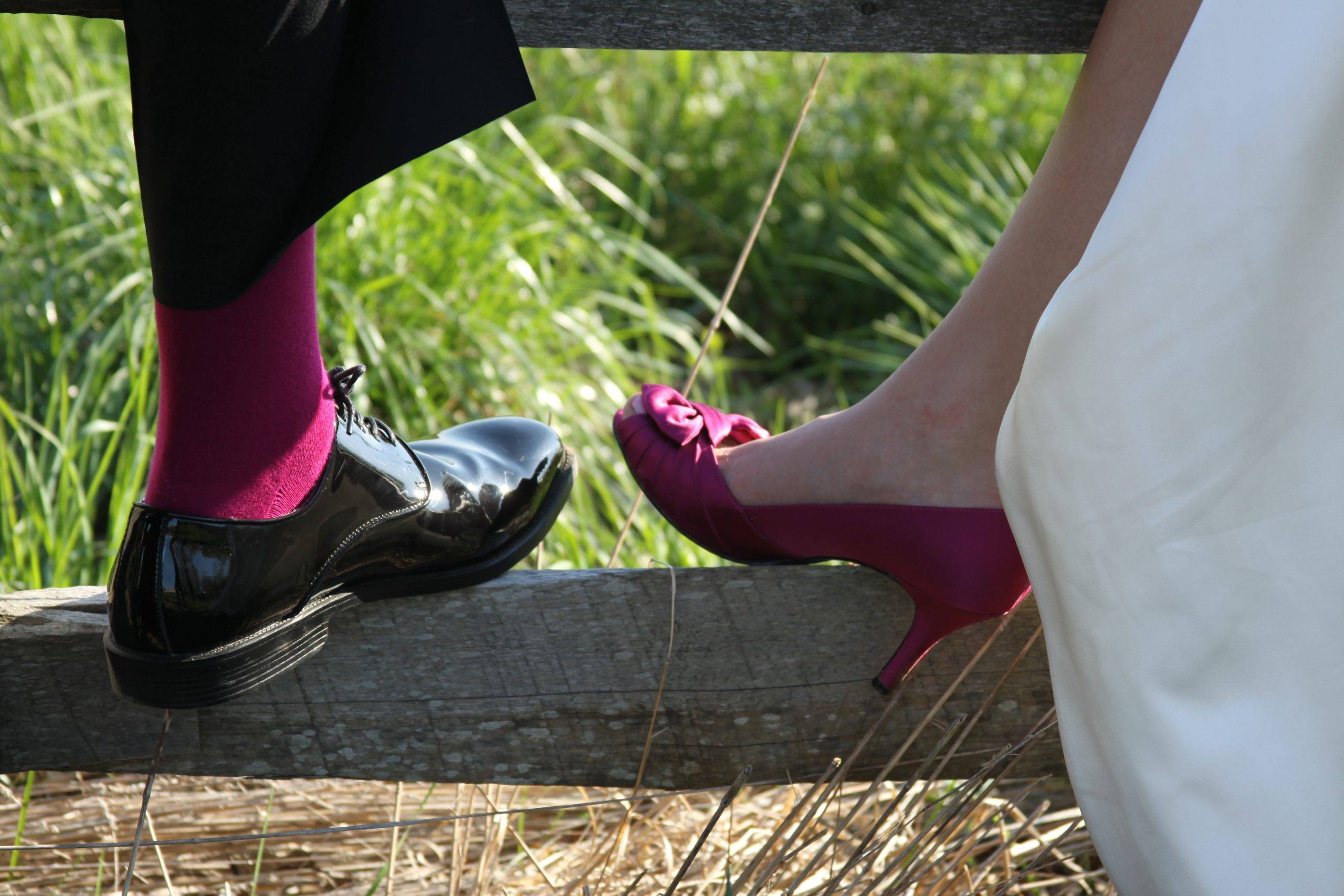Basking Ridge CC wedding shoes