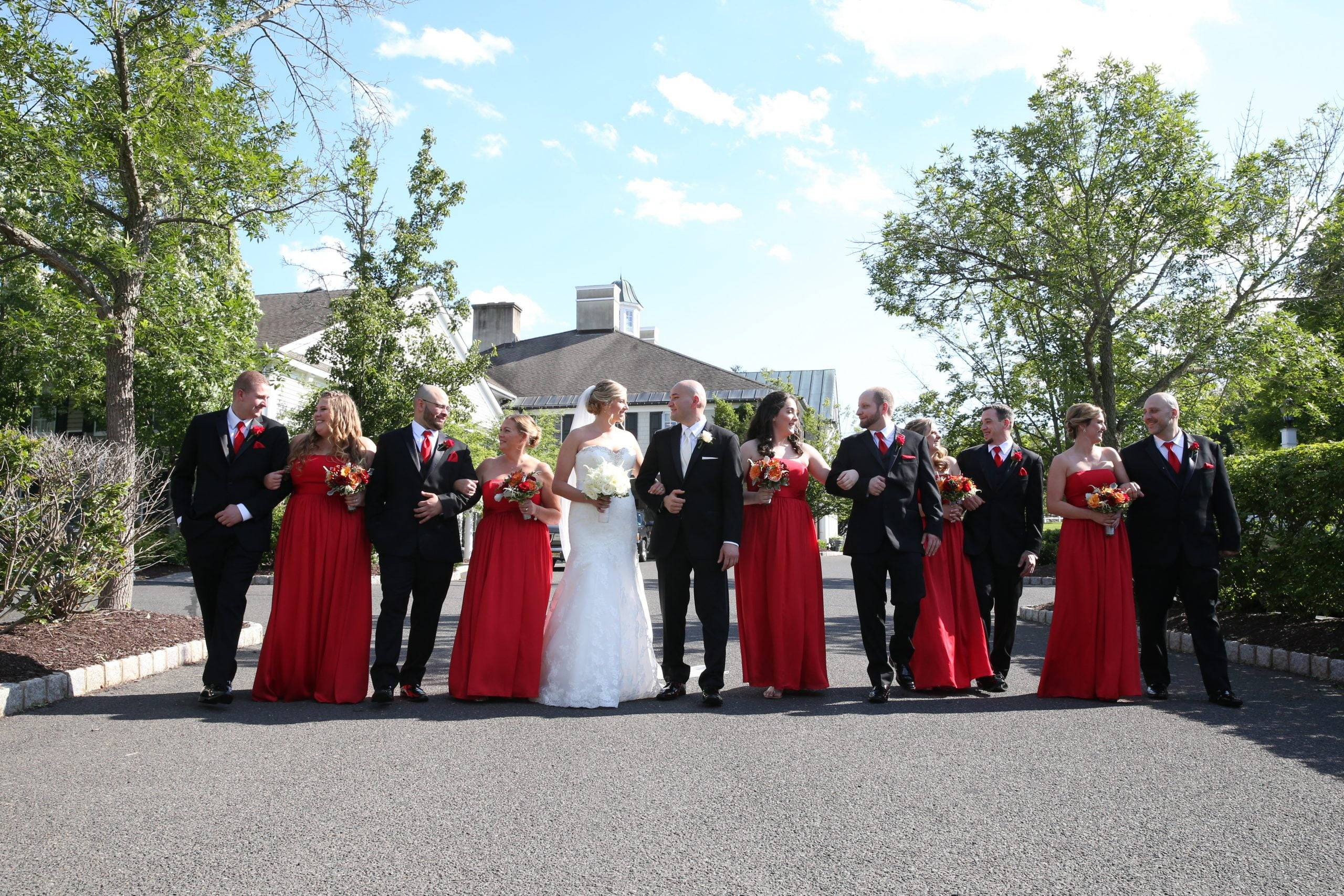 Olde Mill Inn wedding party