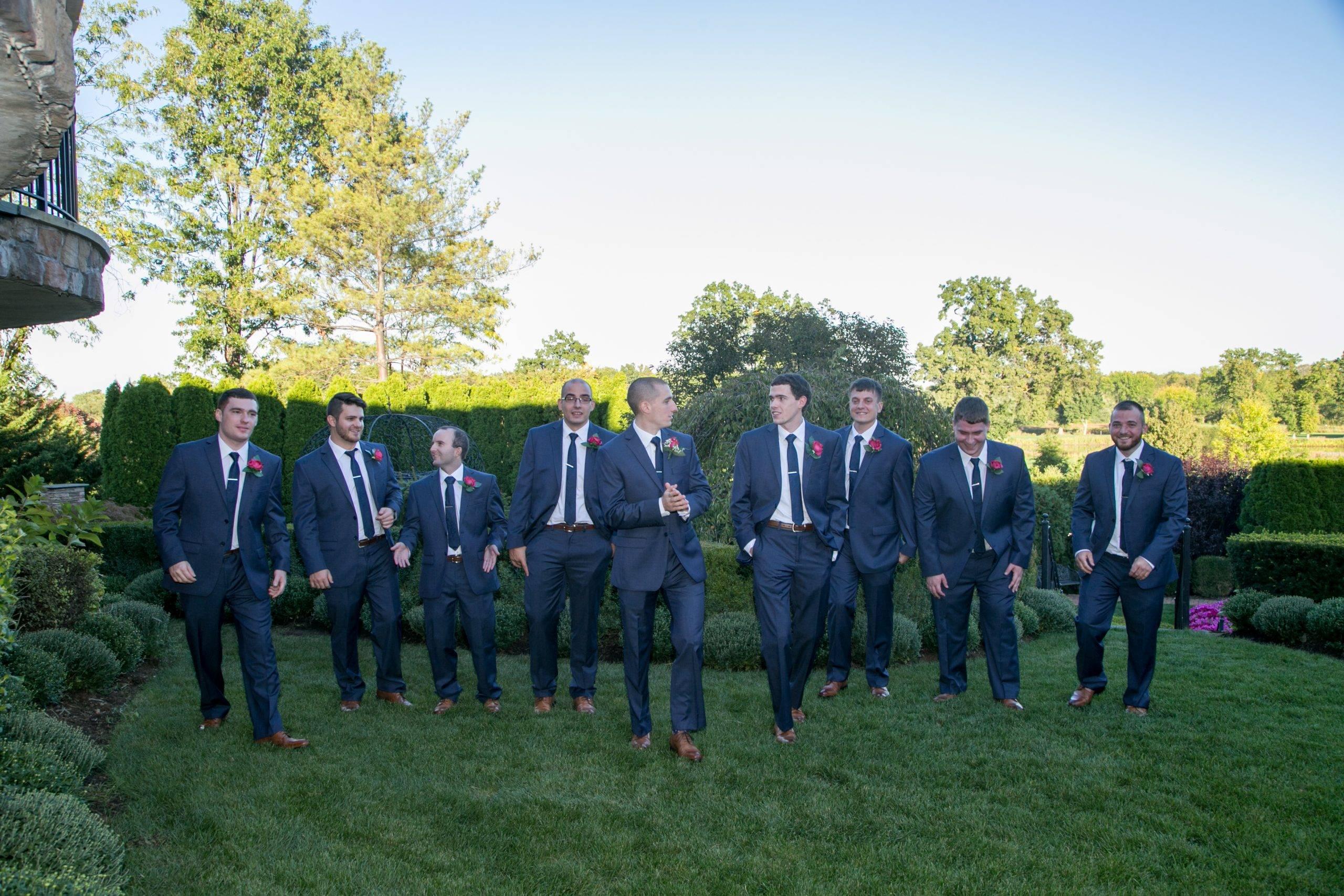 Park Savoy groom and groomsmen