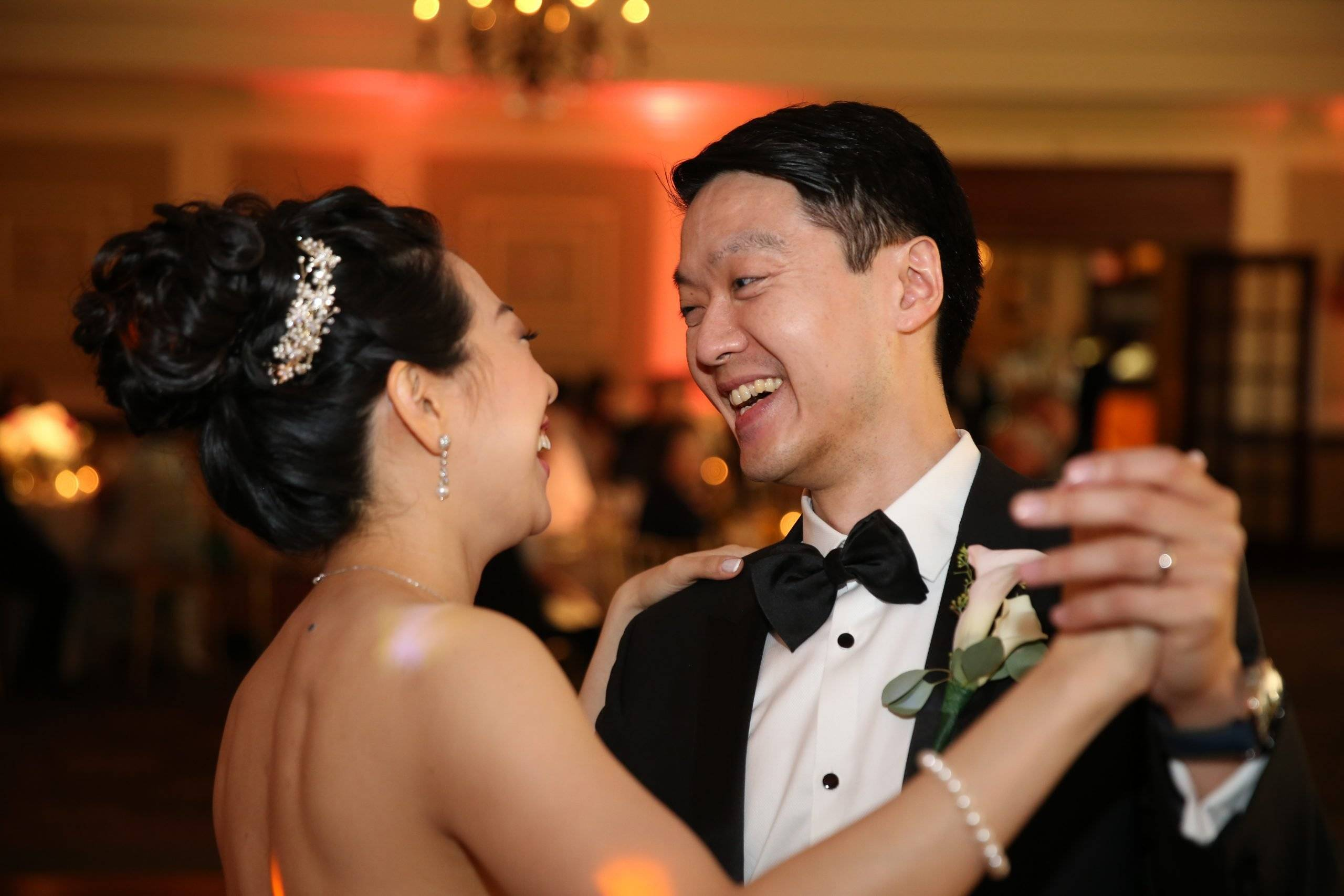Brooklake bride and groom's first dance