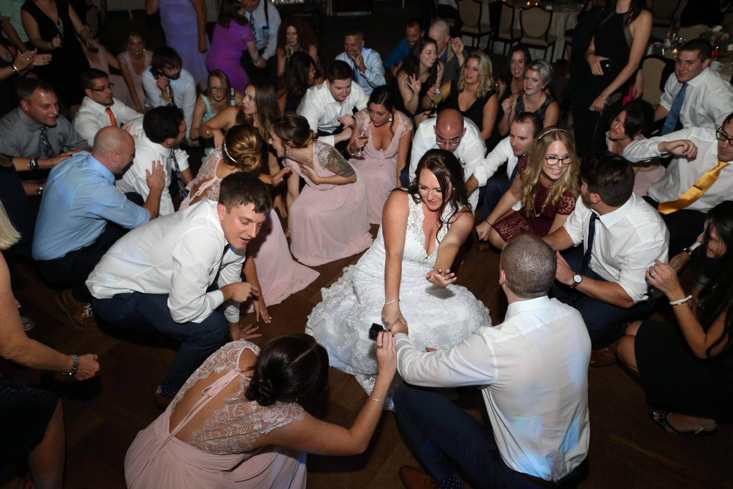 Park Savoy bride dancing at her wedding