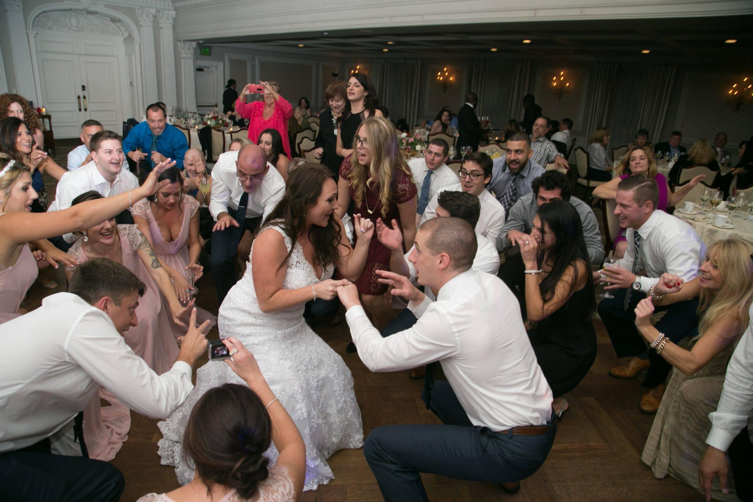 Park Savoy bride and groom dancing at their wedding
