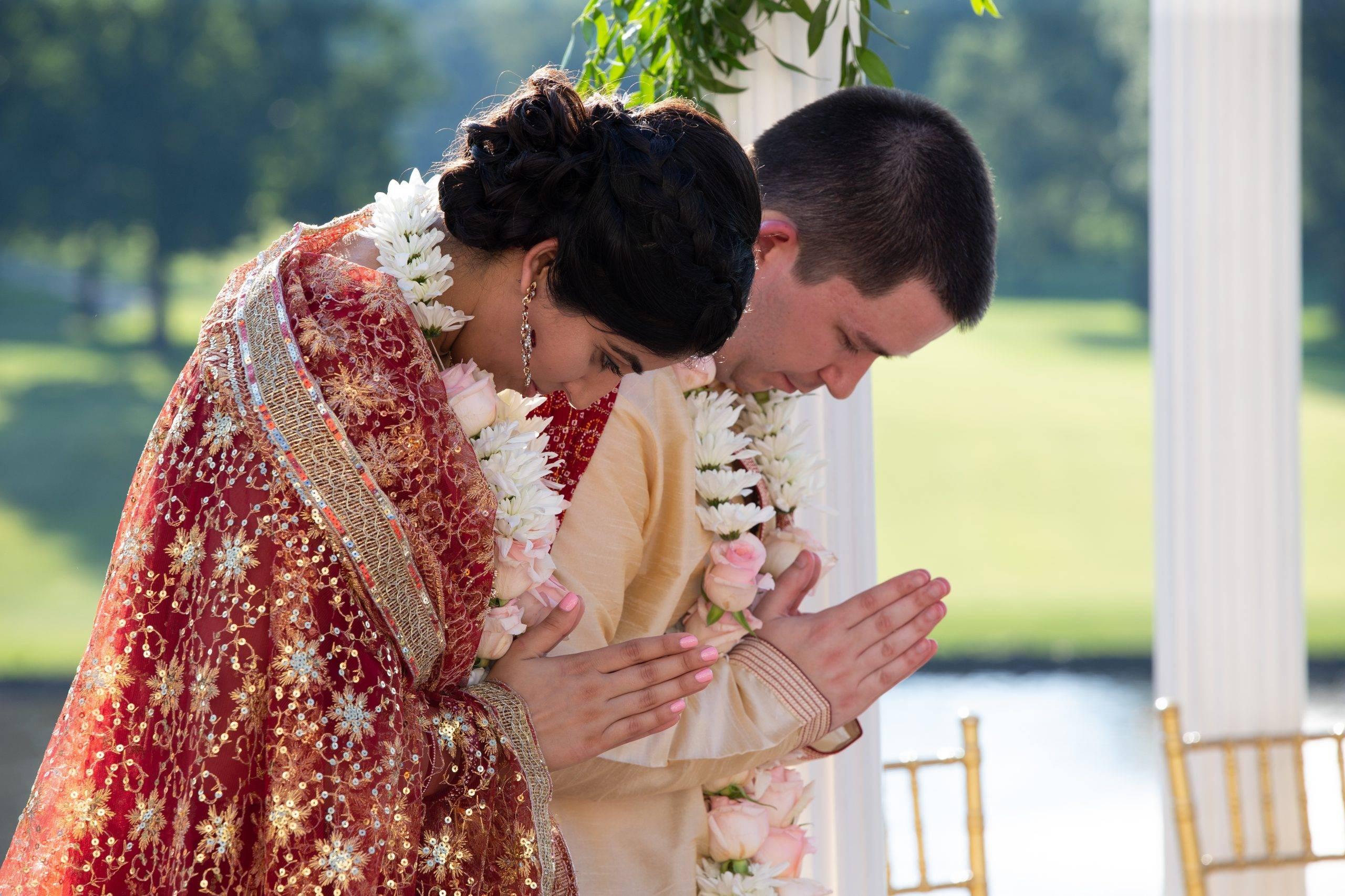 Brooklake Indian bride and groom