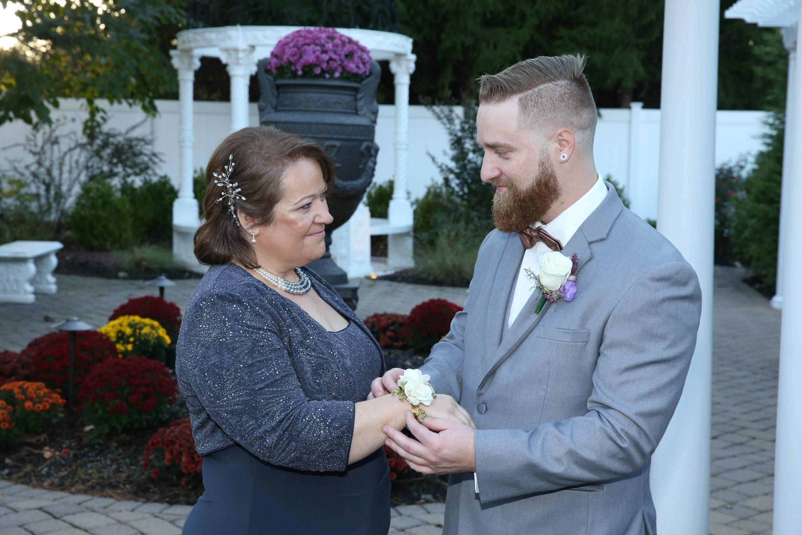 Primavera Regency groom and his mother
