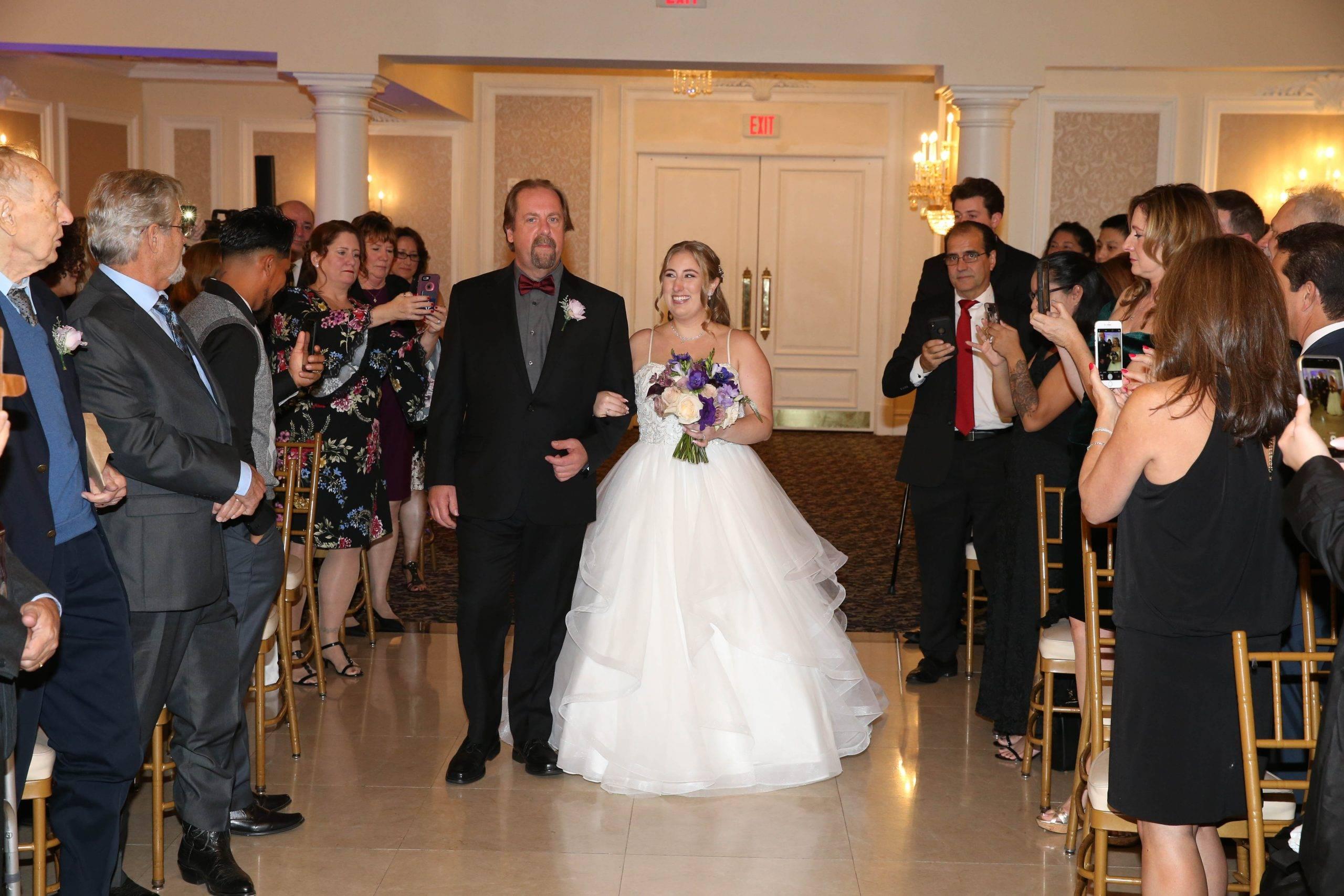 Primavera Regency the bride makes an entrance