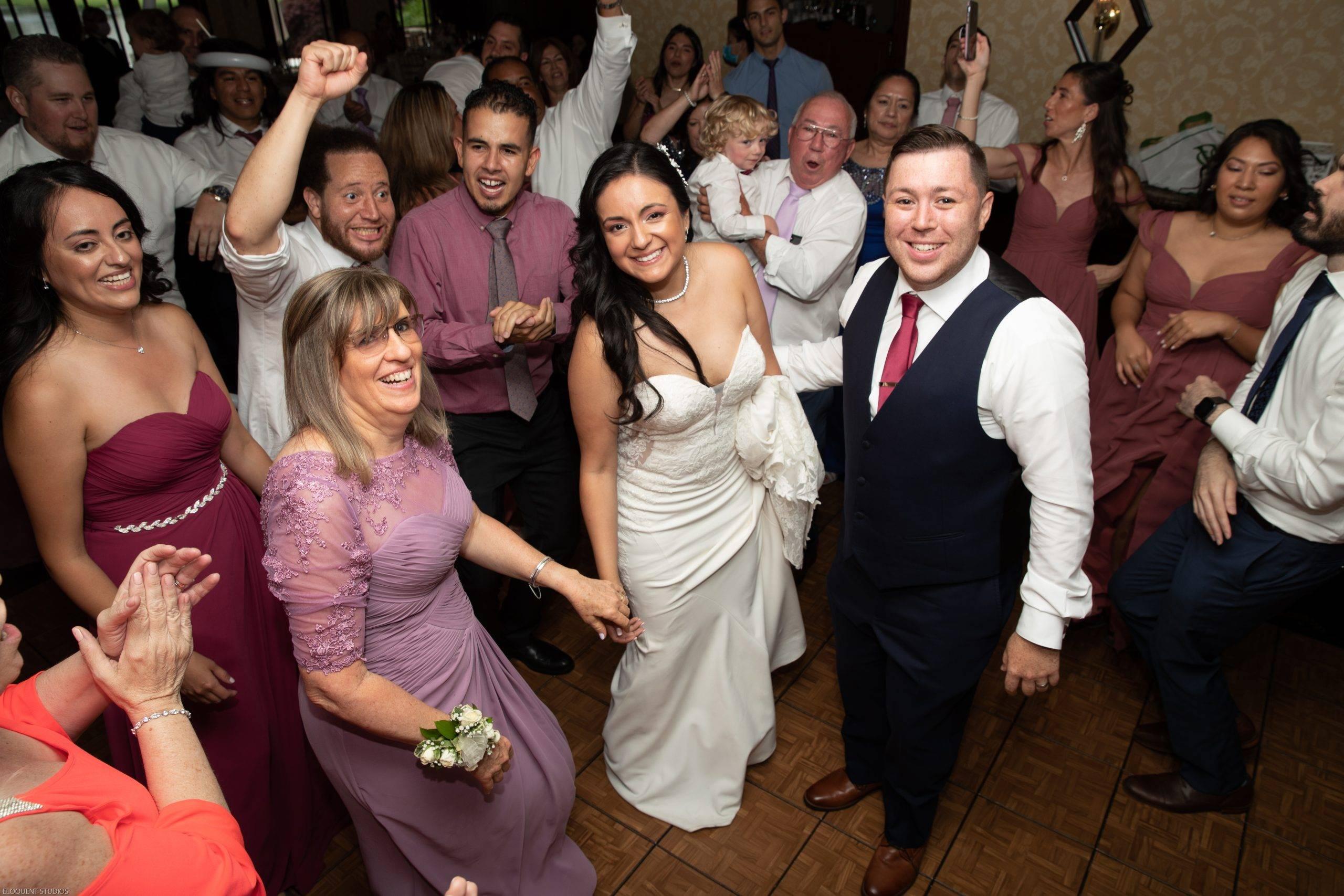 Brooklake bride and groom on dance floor