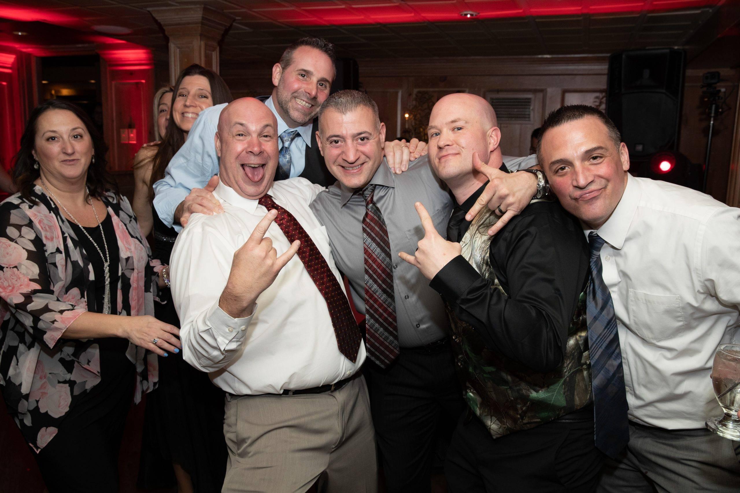 Olde Mill Inn wedding guests having fun