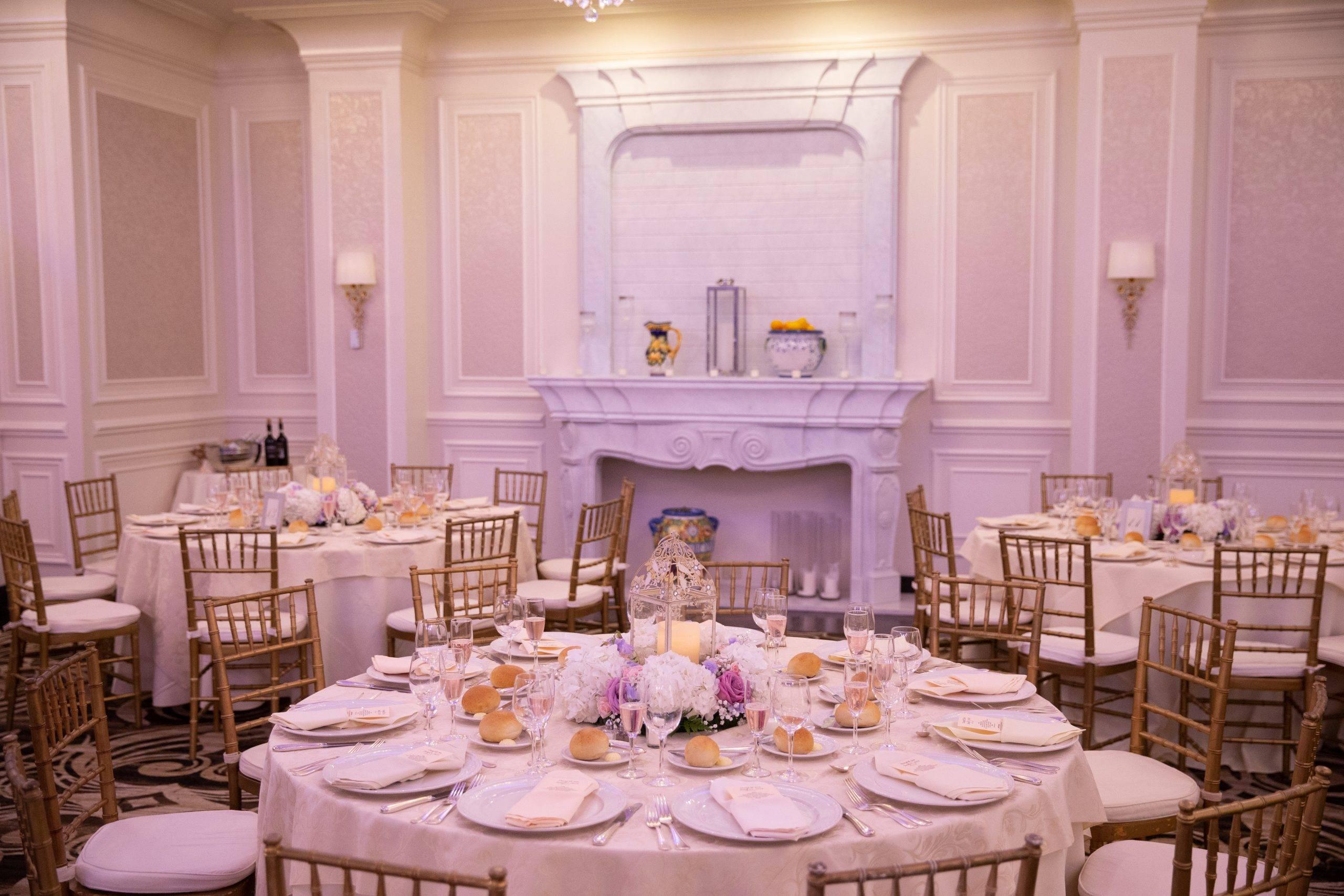 Meadow Wood wedding table setting