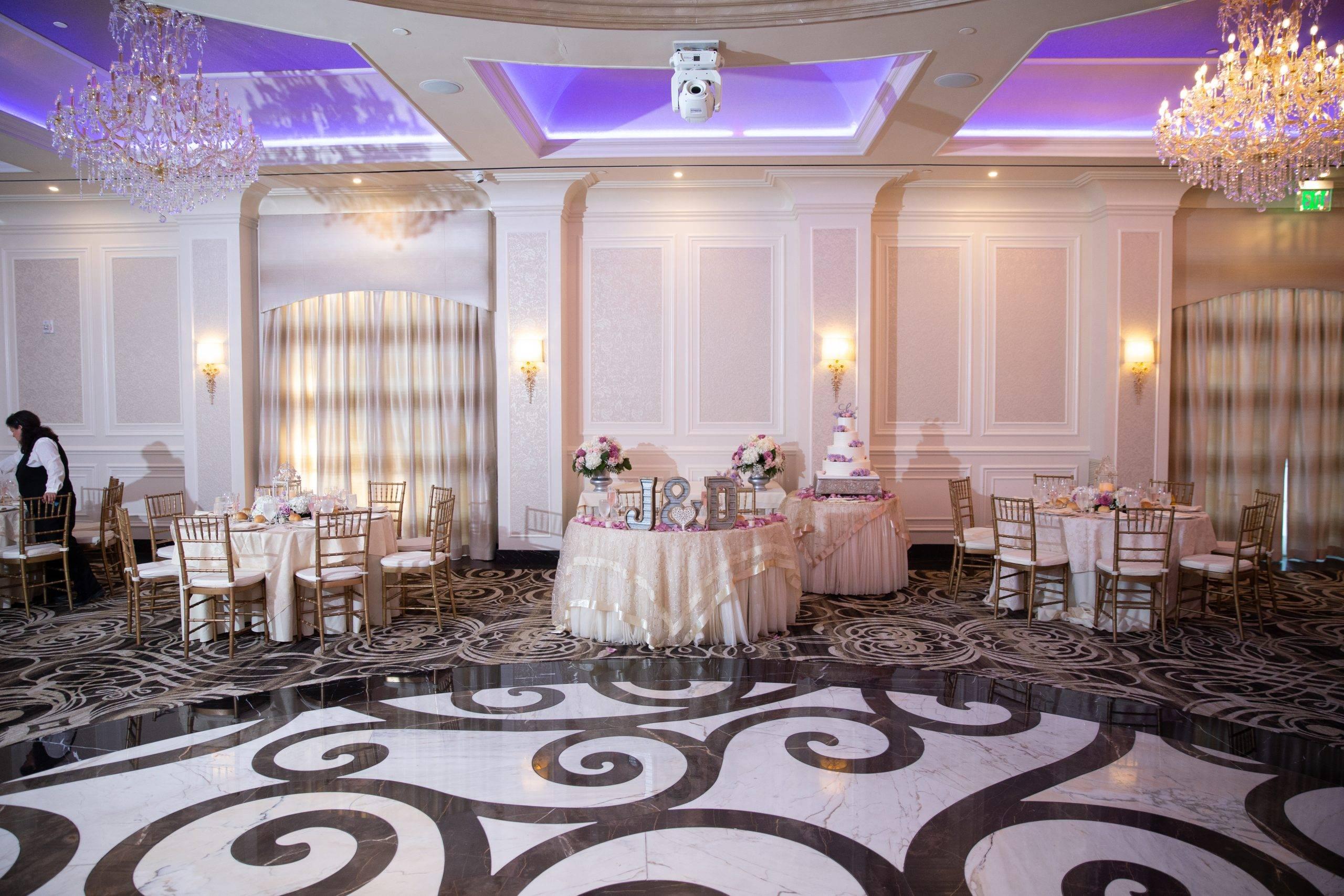 Meadow Wood wedding reception