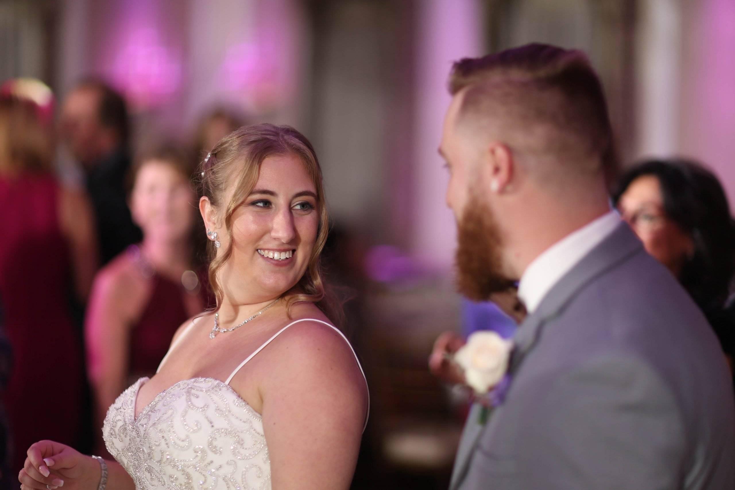 Primavera Regency bride and groom are introduced